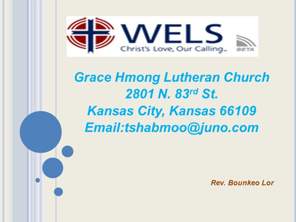 Grace Hmong Lutheran Church