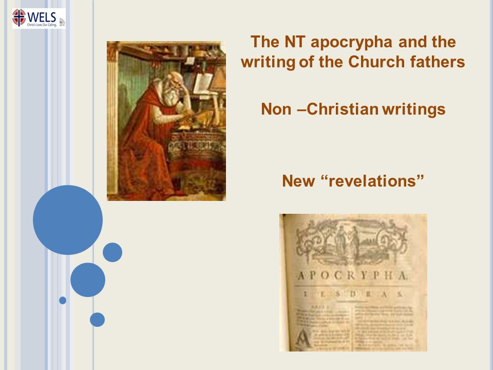 The NT apocrypha and the writing of the Church fathers