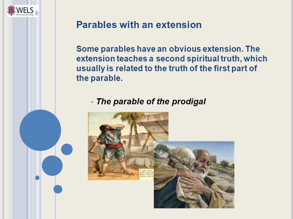 Parables with an extension