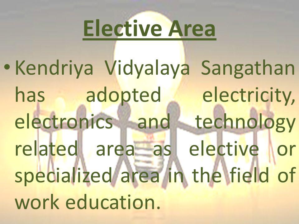 Elective Area
