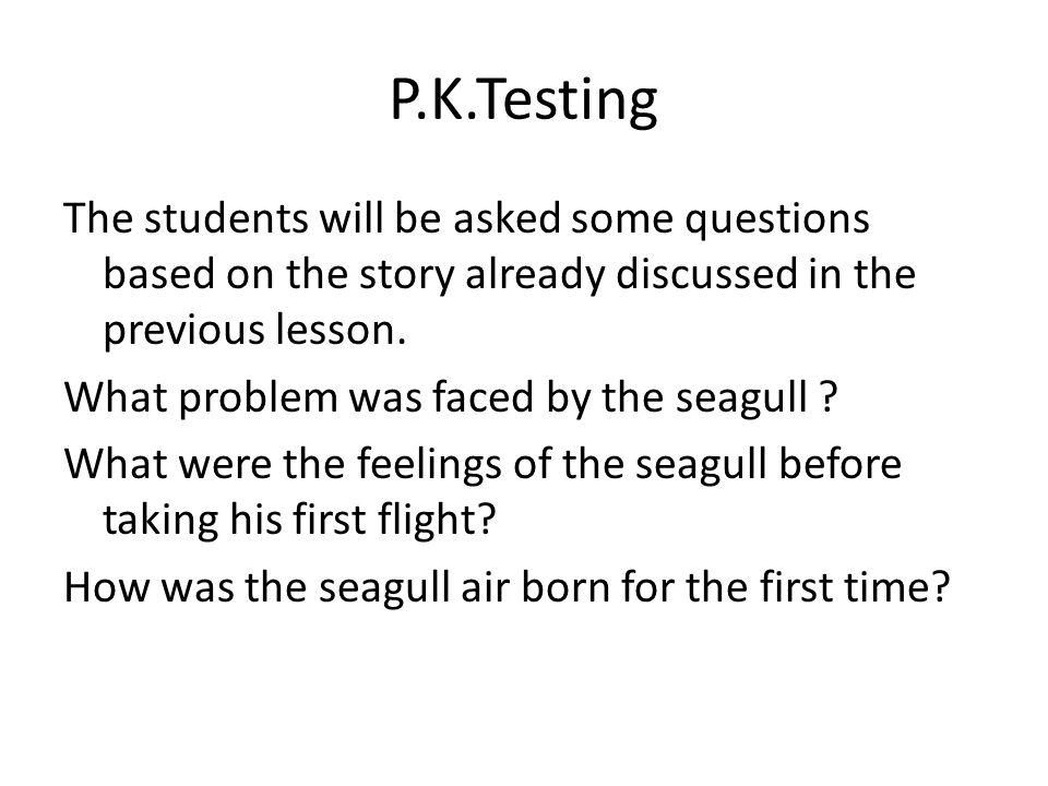 P.K.Testing