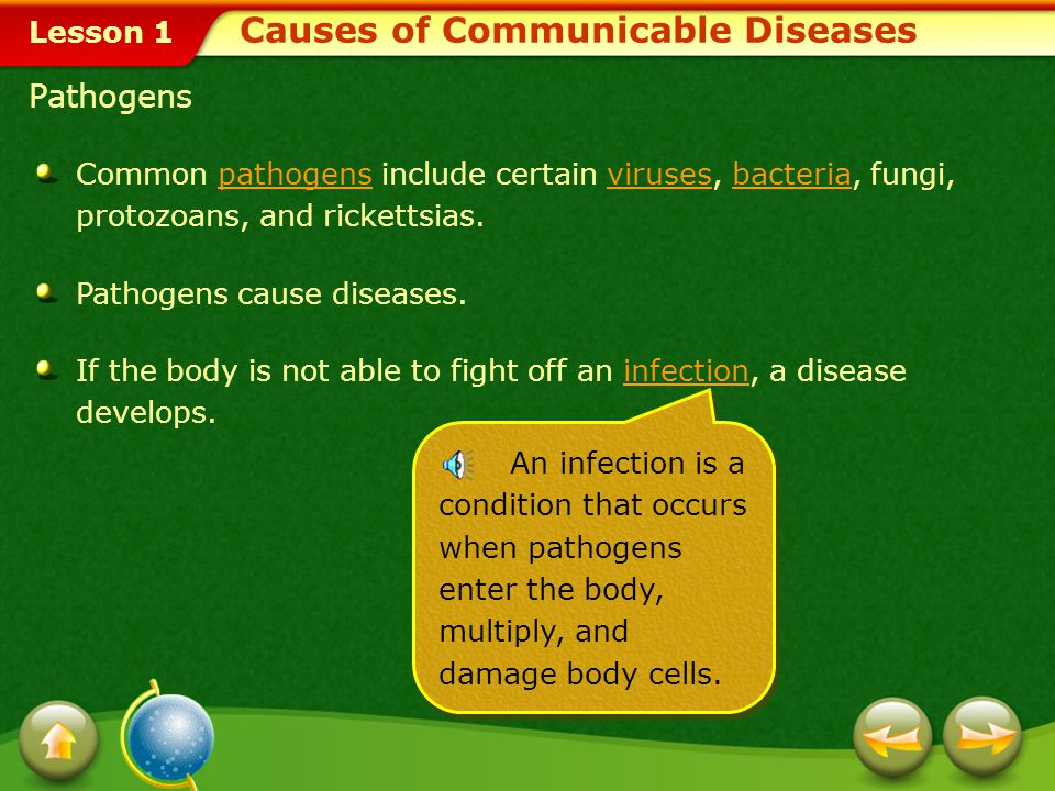 causes of communicable diseases pdf