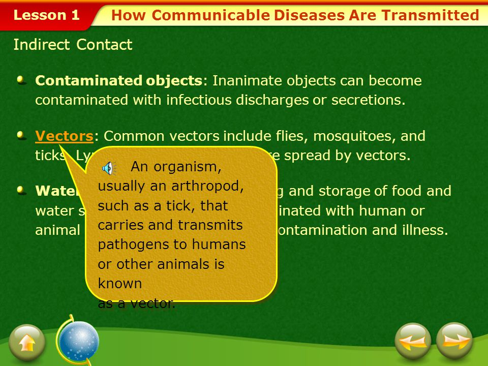 How Communicable Diseases Are Transmitted