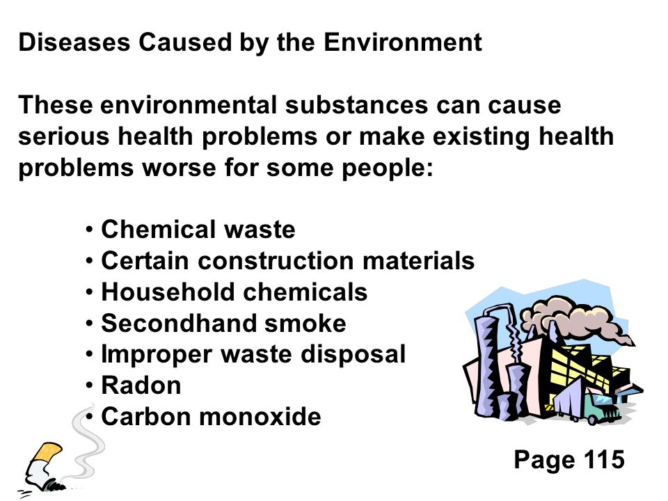 Diseases Caused by the Environment