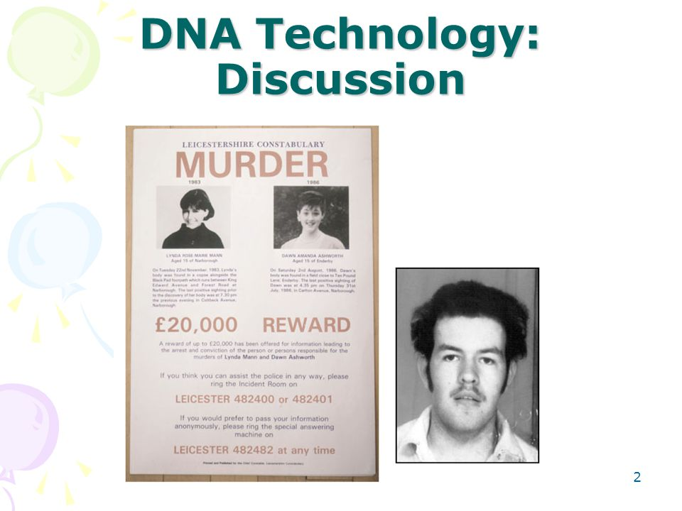 DNA Technology: Discussion