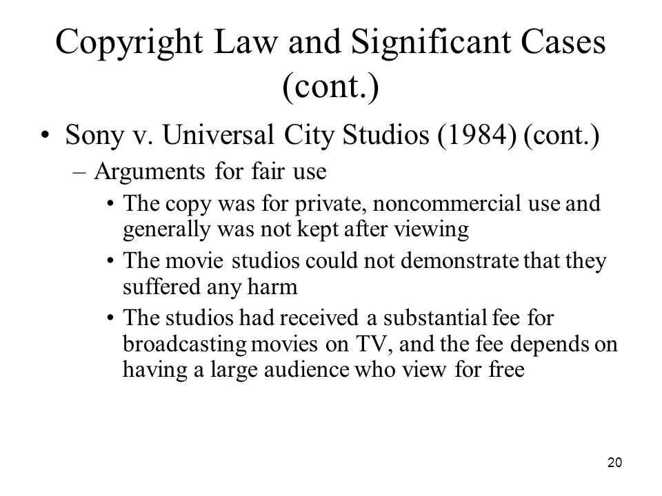 An argument in favor of enhancing copyright laws