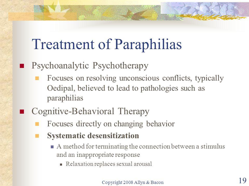 Treatment of Paraphilias