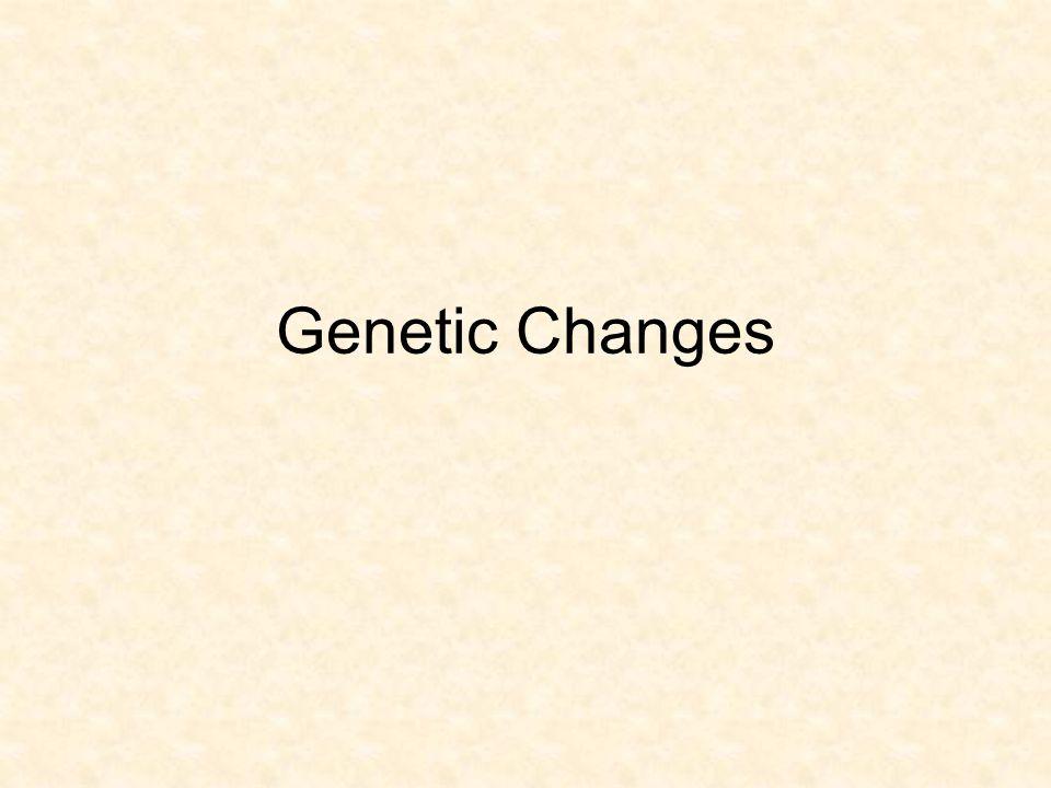 Genetic Changes