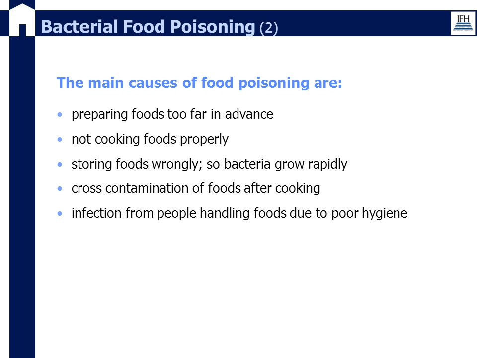 Bacterial Food Poisoning (2)