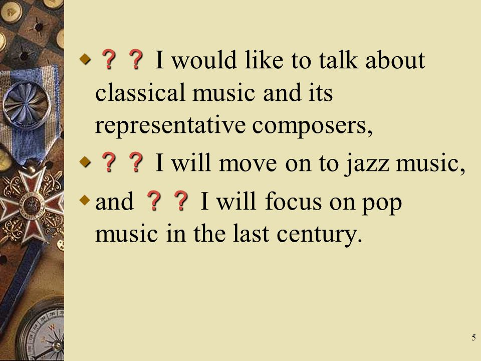 ?? I would like to talk about classical music and its representative composers,