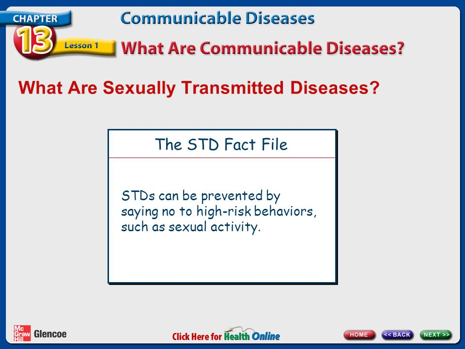 What Are Sexually Transmitted Diseases