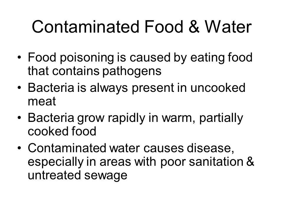 Contaminated Food & Water