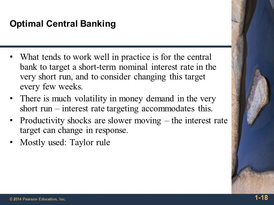 Optimal Central Banking
