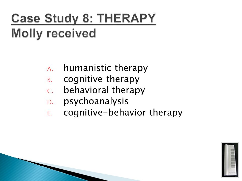 Case Study 8: THERAPY Molly received