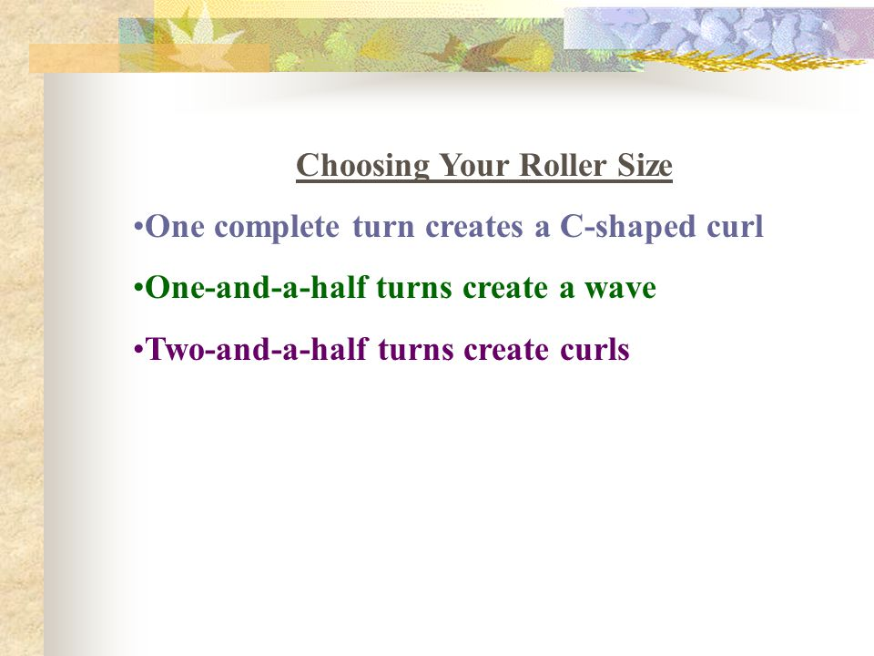 Choosing Your Roller Size