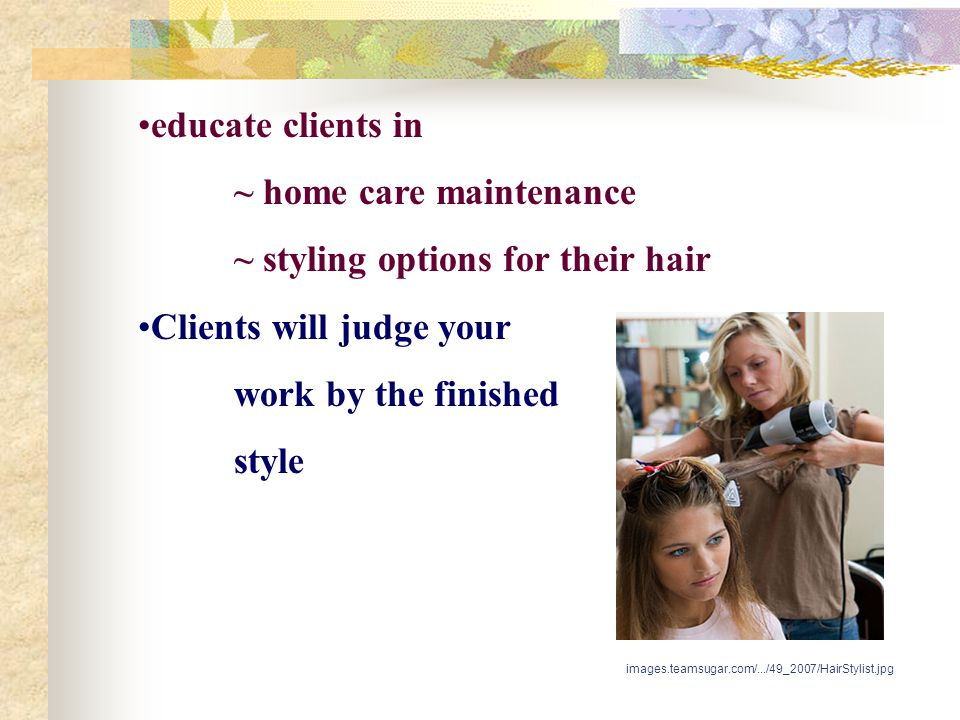 ~ home care maintenance ~ styling options for their hair