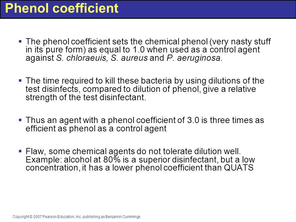 Phenol coefficient