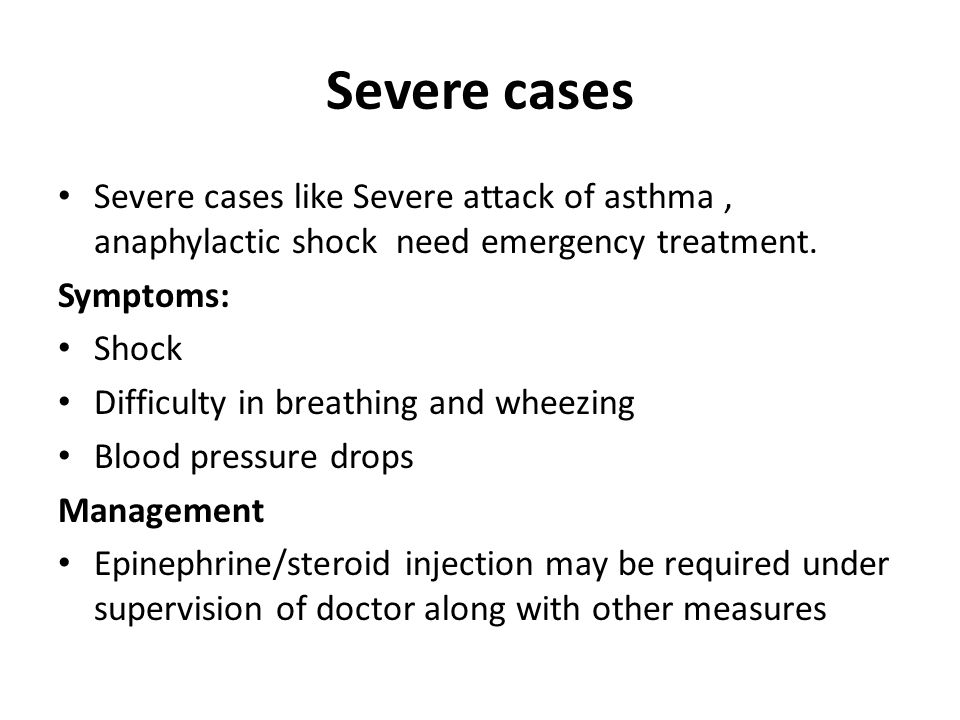 treating anaphylaxis essay Definition of anaphylaxis anaphylaxis is an acute, potentially life-threatening hypersensitivity reaction, involving the release of mediators from mast cells.