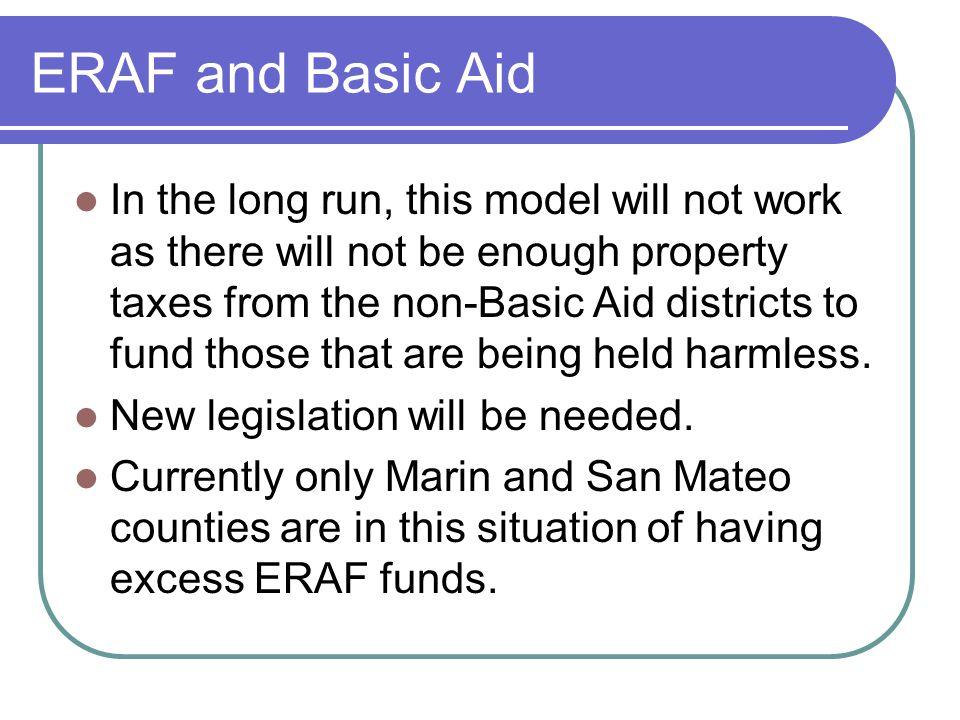 ERAF and Basic Aid