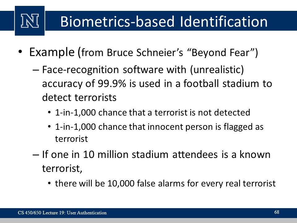 Biometrics-based Identification