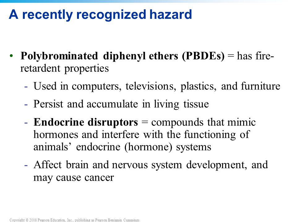 A recently recognized hazard