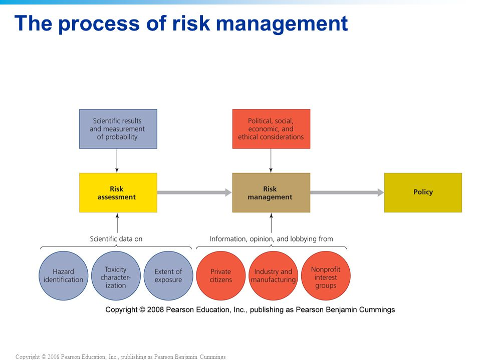 The process of risk management