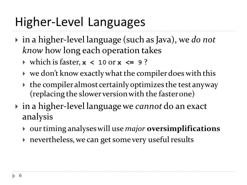 Higher-Level Languages