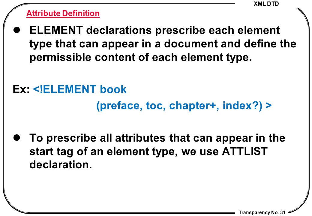 (preface, toc, chapter+, index ) >