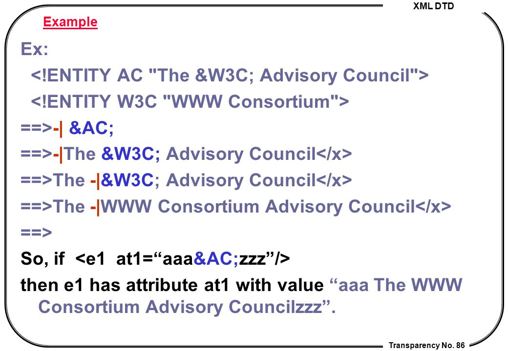 <!ENTITY AC The &W3C; Advisory Council >