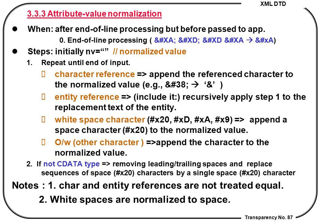 3.3.3 Attribute-value normalization