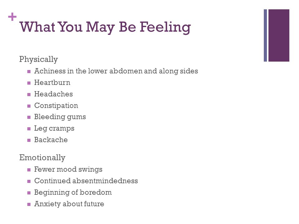 What You May Be Feeling Physically Emotionally