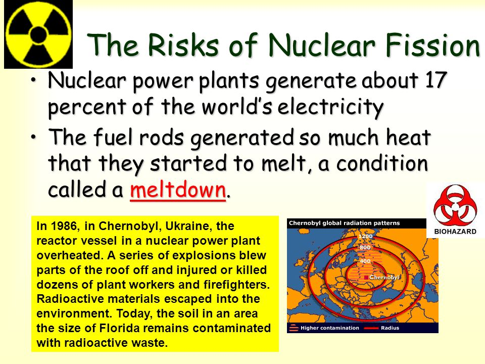 The Risks of Nuclear Fission