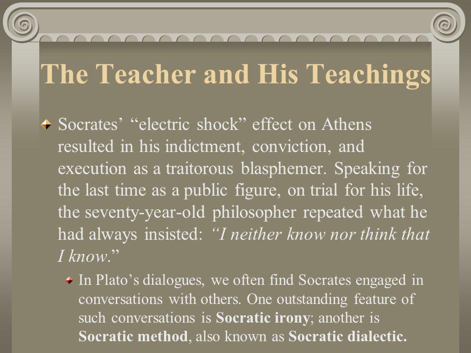 The Teacher and His Teachings