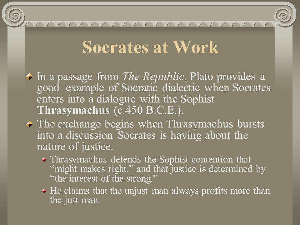 Socrates at Work