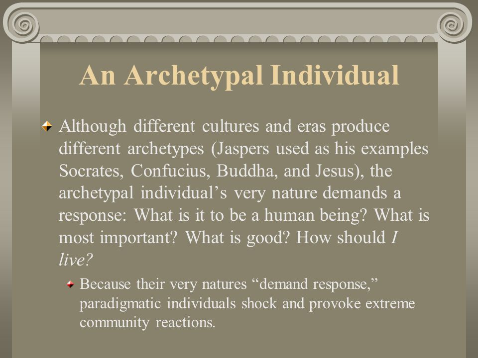 An Archetypal Individual