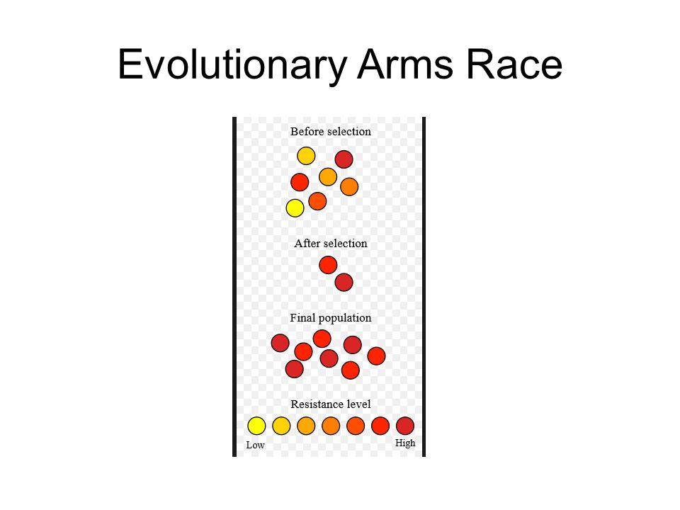 Evolutionary Arms Race