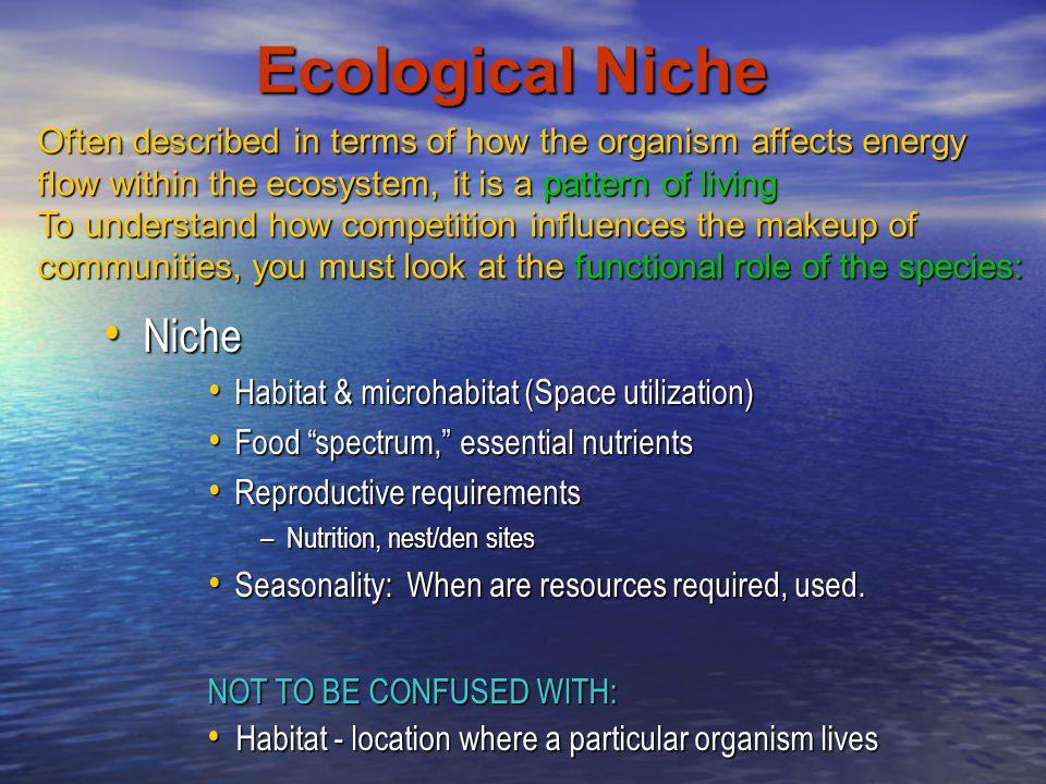 Ecological Niche Niche