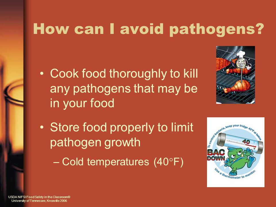 How can I avoid pathogens