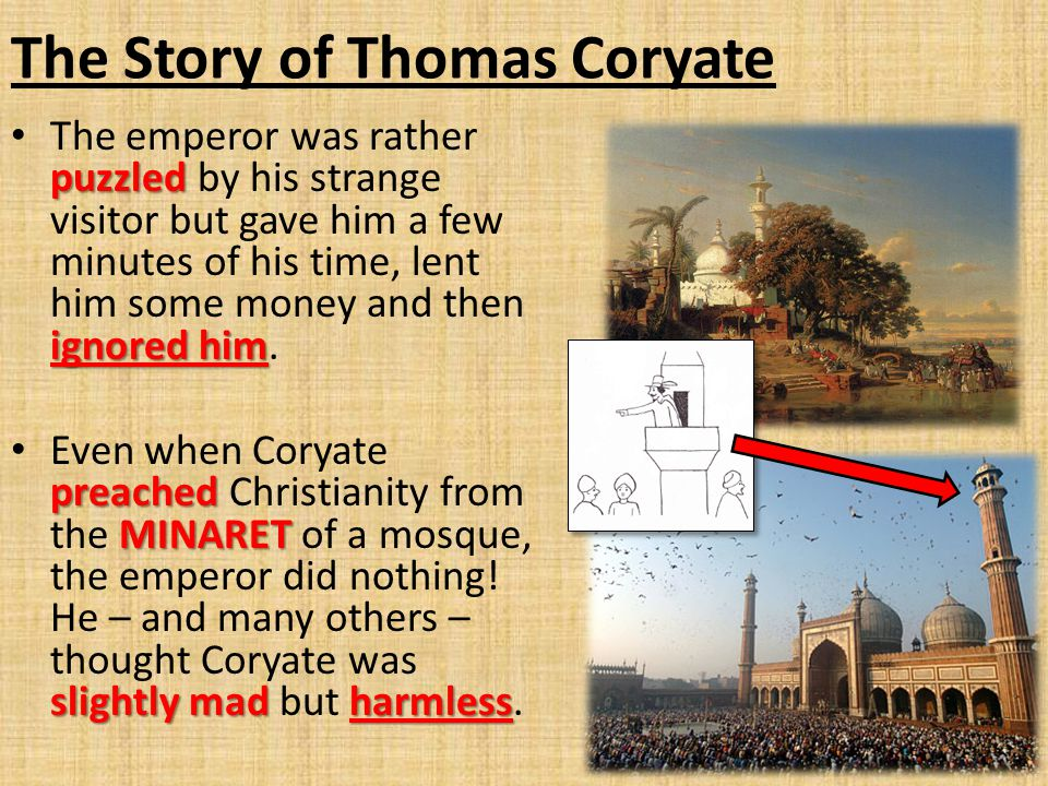 The Story of Thomas Coryate