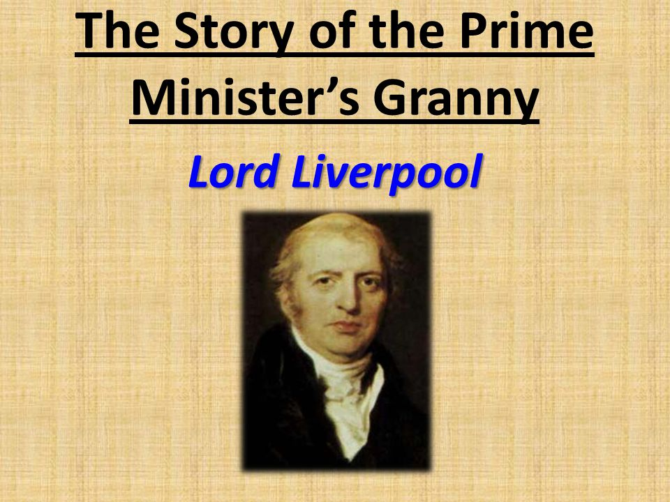 The Story of the Prime Minister's Granny