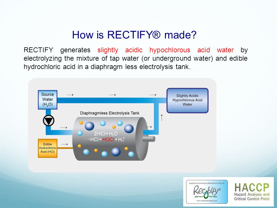 How is RECTIFY® made