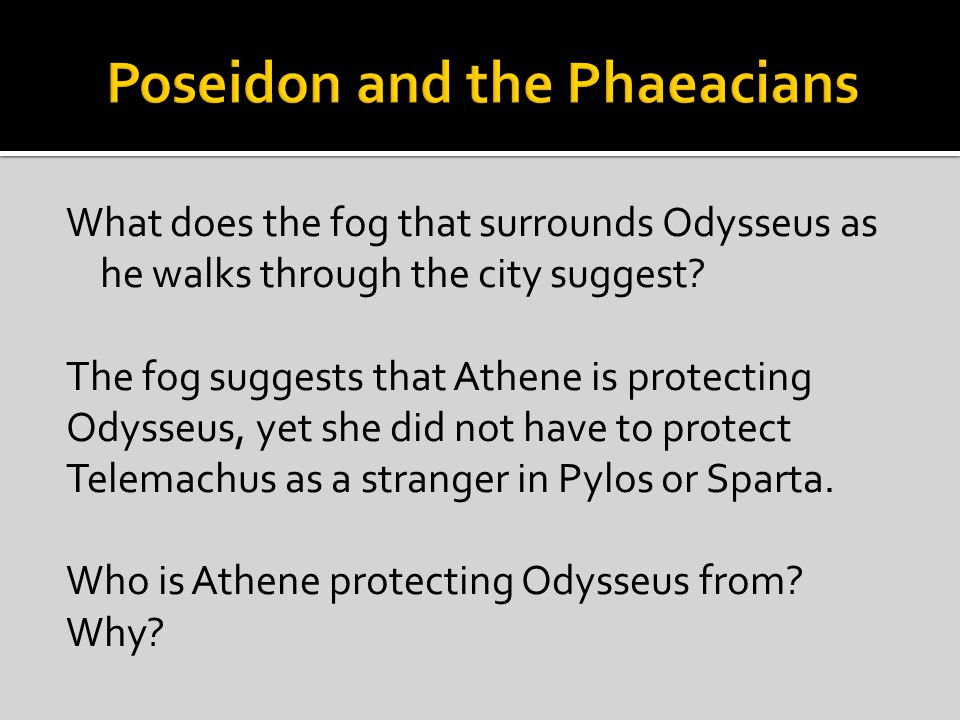 Poseidon and the Phaeacians