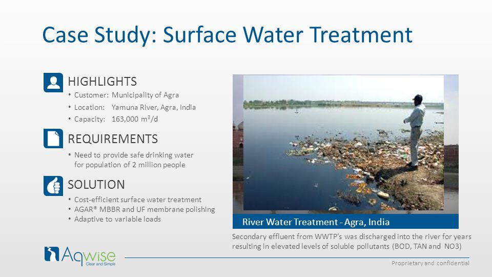 Case Study: Surface Water Treatment