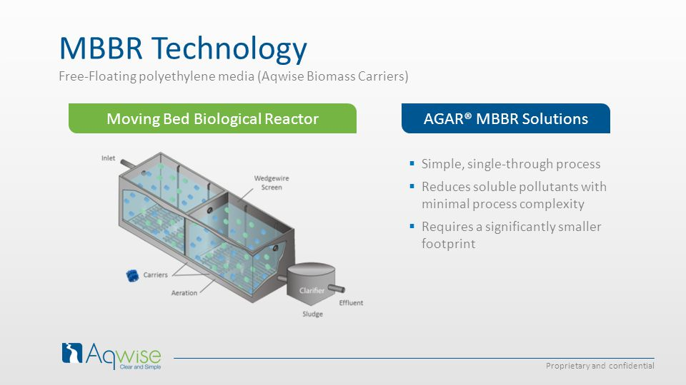 Moving Bed Biological Reactor