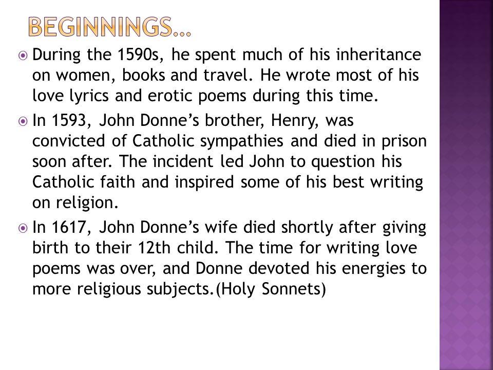 John Donne. Religious Poetry