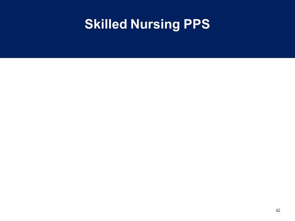 Skilled Nursing PPS
