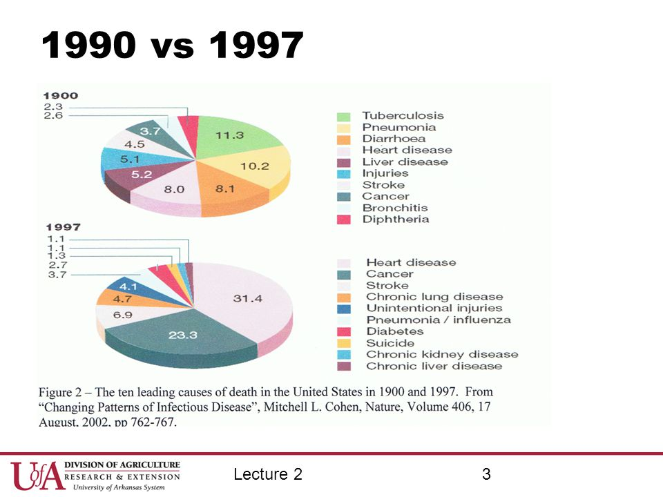 1990 vs 1997 Lecture 2 The good ole days were not that good.