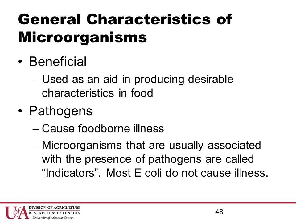 General Characteristics of Microorganisms