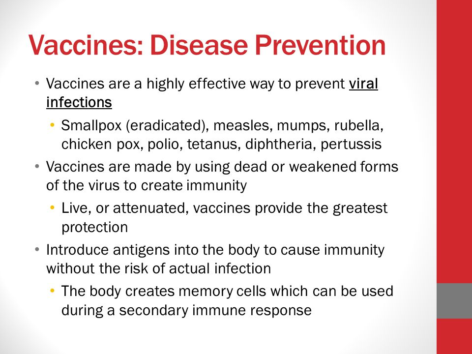 Vaccines: Disease Prevention