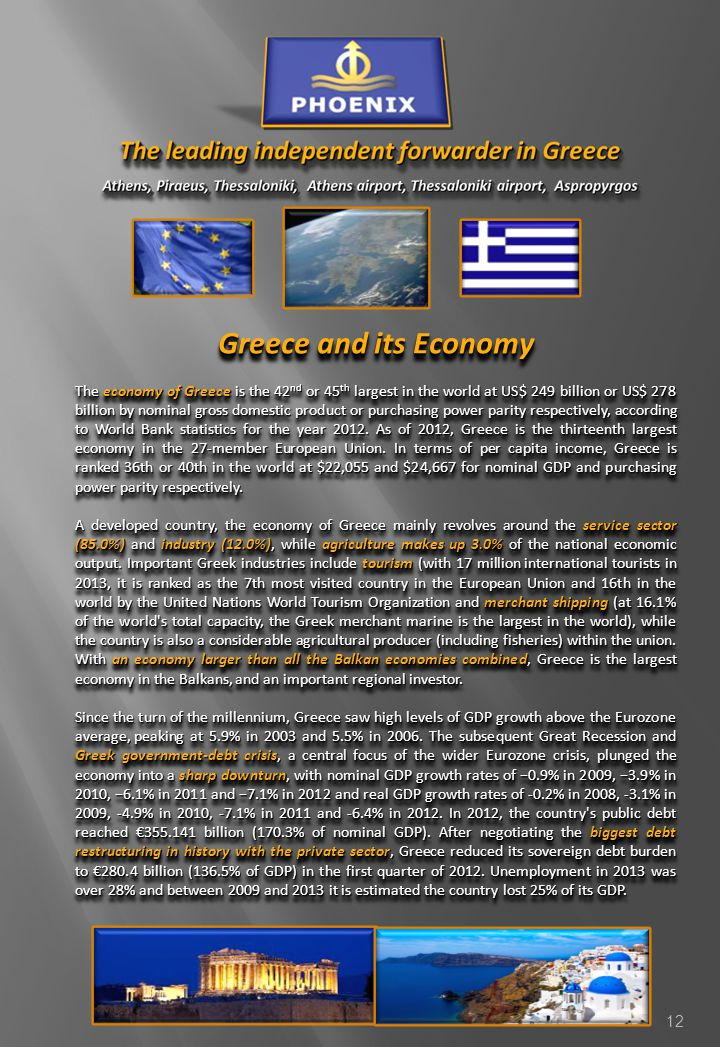 Greece and its Economy